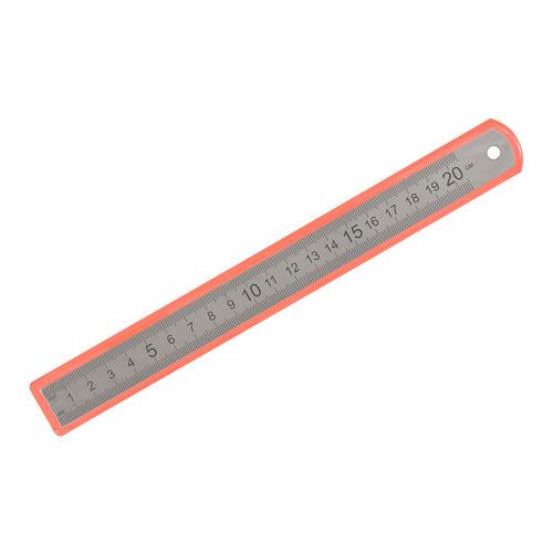 Упаковка линеек SILWERHOF 160165, сталь нержавеющая, 20см, двухсторонняя шкала 12 шт./кор. 160165 по цене 276