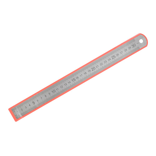 Упаковка линеек SILWERHOF 160166, сталь нержавеющая, 30см, двухсторонняя шкала 20 шт./кор. 160166 по цене 580