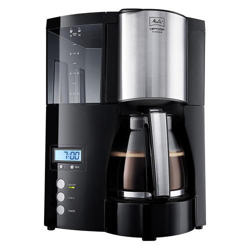 Кофеварка MELITTA Optima Timer, капельная, черный [6613648] цена и фото