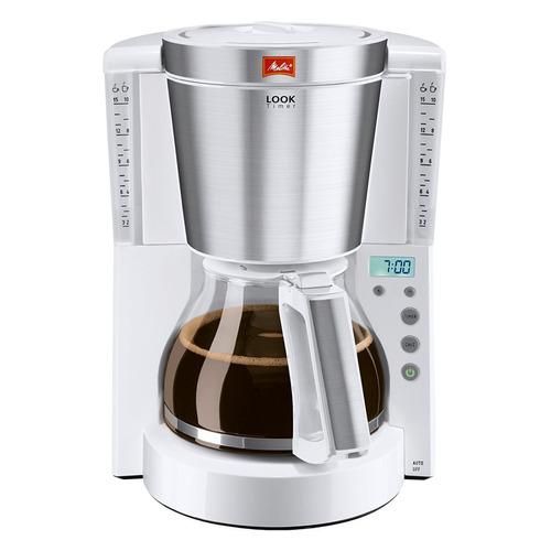 Кофеварка MELITTA Look IV Timer, капельная, белый [6708054] цена и фото