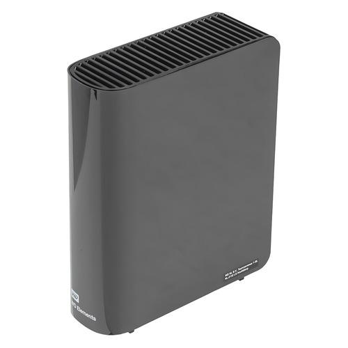 Фото - Внешний жесткий диск WD Elements Desktop WDBWLG0060HBK-EESN, 6ТБ, черный внешний жесткий диск wd my book wdbbgb0040hbk eesn 4тб черный