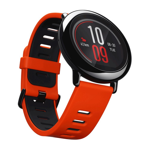 Смарт-часы XIAOMI Amazfit Pace, 1.34, красный / красный умные часы xiaomi amazfit watch band black pace smartwatch black