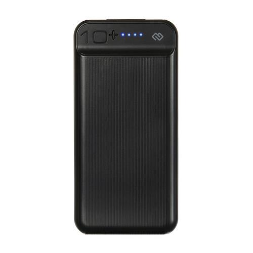 Внешний аккумулятор (Power Bank) DIGMA DG-10000-3U-BK, 10000мAч, черный DG-10000-3U-BK по цене 840