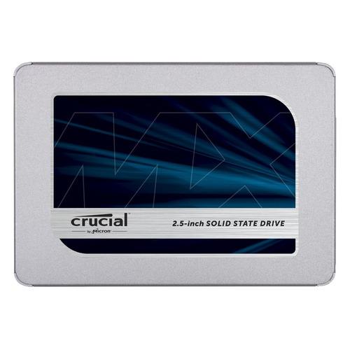 SSD накопитель CRUCIAL MX500 CT1000MX500SSD1N 1Тб, 2.5, SATA III