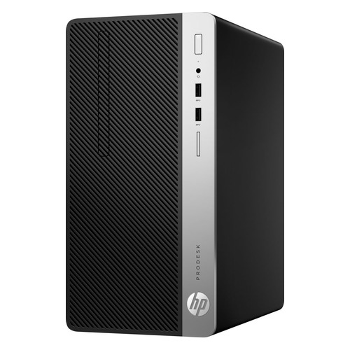 Компьютер HP ProDesk 400 G5, Intel Core i3 8100, DDR4 4Гб, 500Гб, Intel UHD Graphics 630, DVD-RW, Windows 10 Professional, черный [4cz34ea] компьютер hp prodesk 400 g4 intel core i5 6500 ddr4 4гб 500гб intel hd graphics 530 dvd rw windows 10 professional черный [1jj52ea]