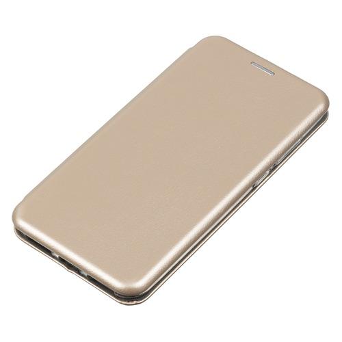 лучшая цена Чехол (флип-кейс) REDLINE Unit, для Huawei Honor 7A Pro, золотистый [ут000014460]