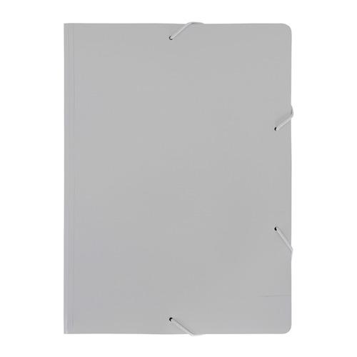 Папка на резинке Бюрократ Black&White BWPR05WT A4 пластик кор.30мм 0.5мм белый/черный 10 шт./кор. папка на резинке бюрократ crystal cr510 a4 пластик кор 30мм 0 5мм ассорти 60 шт кор