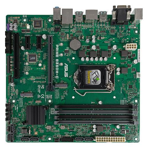 Материнская плата ASUS PRIME B360M-C, LGA 1151v2, Intel B360, mATX, Ret цена и фото