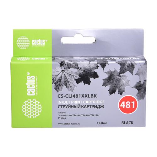 Картридж CACTUS CS-CLI481XXLBK, черный CS-CLI481XXLBK по цене 790