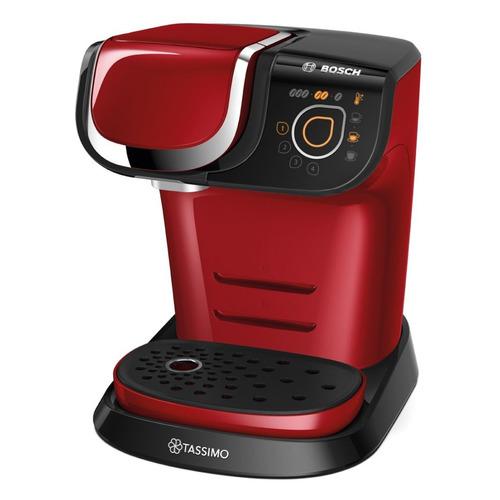 Капсульная кофеварка BOSCH Tassimo TAS6003, 1500Вт, цвет: красный цена и фото