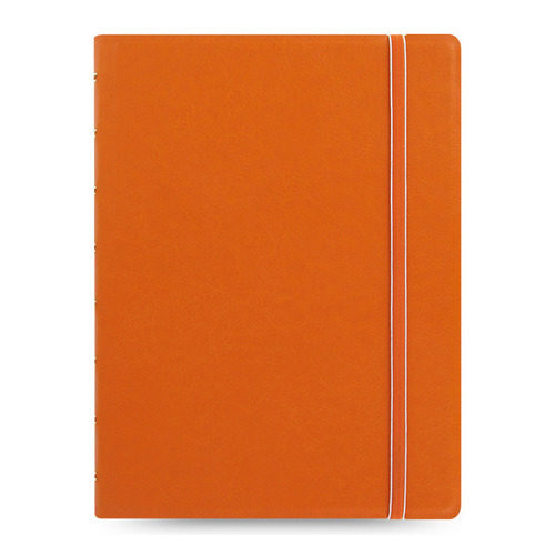 Тетрадь Filofax CLASSIC BRIGHT A5 PU 56л линейка съемные листы спираль двойная оранжевый pu leather spiral loose leaf refillable travel journal zipper dokibook notebook filofax planner agenda notepad binder a6