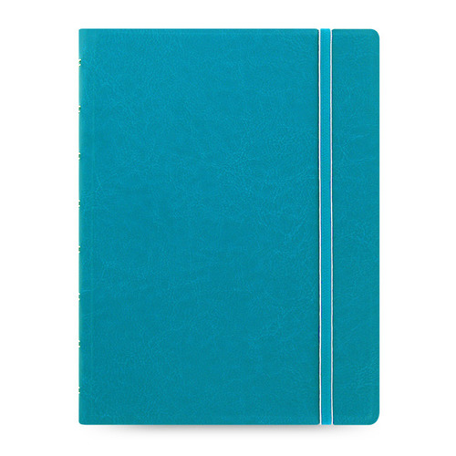 Тетрадь Filofax CLASSIC BRIGHT A5 PU 56л линейка съемные листы спираль двойная бирюзовый pu leather spiral loose leaf refillable travel journal zipper dokibook notebook filofax planner agenda notepad binder a6
