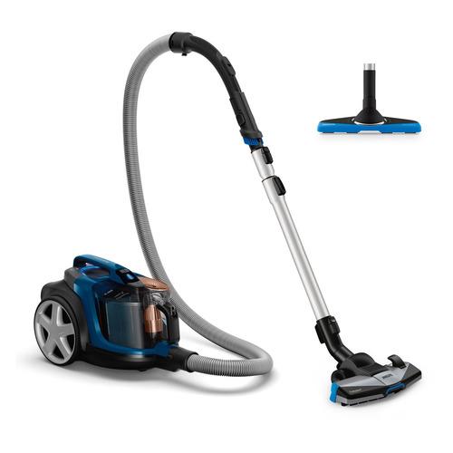 Пылесос PHILIPS PowerPro Expert FC9733/01, 2100Вт, синий/черный цена и фото