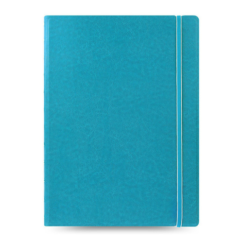 Тетрадь Filofax CLASSIC BRIGHT A4 PU 56л линейка съемные листы спираль двойная бирюзовый pu leather spiral loose leaf refillable travel journal zipper dokibook notebook filofax planner agenda notepad binder a6