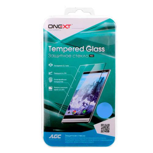 Защитное стекло для экрана ONEXT для Huawei Honor 10, 3D, 1 шт, черный [41774] цена 2017