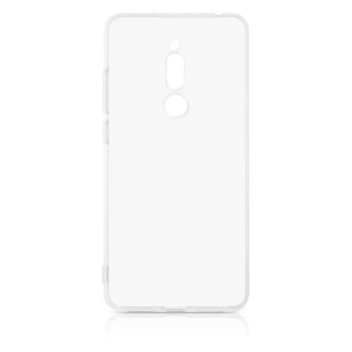 Чехол (клип-кейс) DF mzCase-24, для Meizu M6T, прозрачный аксессуар чехол для meizu m6t zibelino ultra thin case white zutc mzu m6t wht