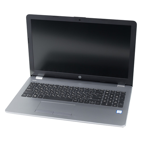 Ноутбук HP 250 G6, 15.6, Intel Core i3 7020U 2.3ГГц, 4Гб, 256Гб SSD, Intel HD Graphics 620, DVD-RW, Windows 10 Professional, 4BD82EA, серебристый