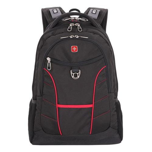 Рюкзак Wenger 900D черный/красный 1178215 38x5x47см 33л. 1.38кг.
