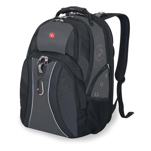 Рюкзак Wenger 900D черный/серый 12704215 37x5x47см 36л. 1.5кг.