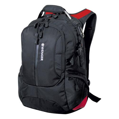 Рюкзак Wenger 1200D черный/красный 15912215 39x5x50см 30л. 1.346кг. ремни giorgio redaelli ремни