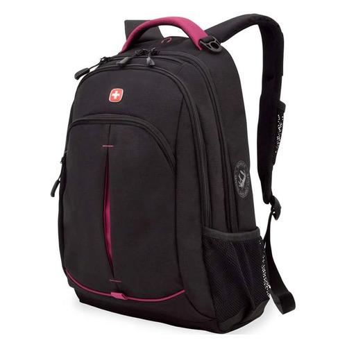 Рюкзак Wenger Fusion черный/розовый 3165208408 35x5x46см 22л. 0.716кг. цена и фото
