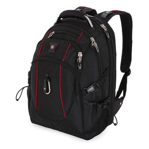 Рюкзак Wenger 900D/М2 ДОББИ (6677202408) 37x5x48см 38л. 1.42кг. полиэстер черный/красный