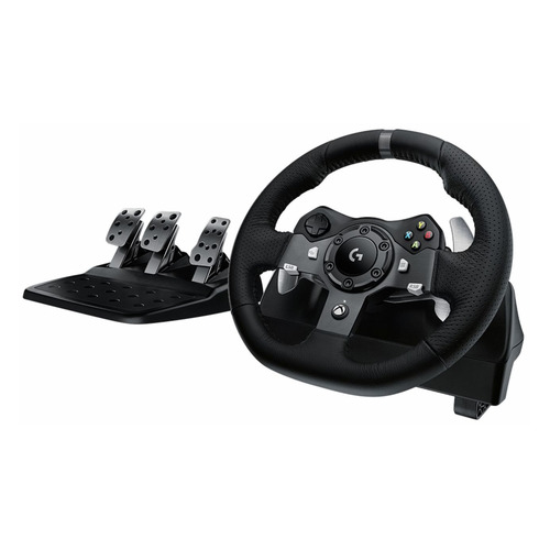 Руль LOGITECH G920 Driving Force [941-000123] руль thrustmaster tx rw leather edition eu xbox one pc 4460133