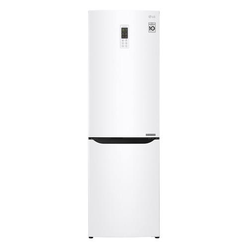 Холодильник LG GA-B419SQGL, двухкамерный, белый двухкамерный холодильник lg ga b 459 sqcl белый
