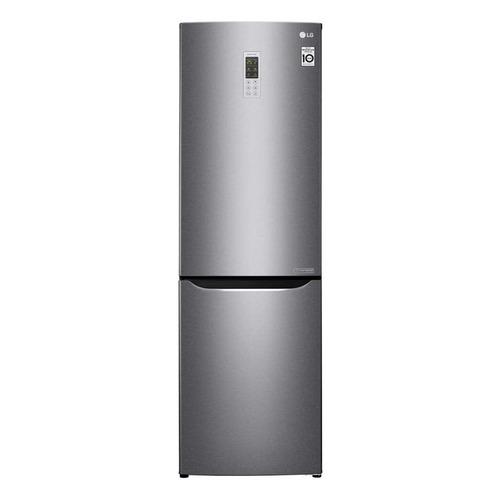 лучшая цена Холодильник LG GA-B419SLGL, двухкамерный, графит