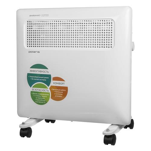 Конвектор POLARIS PCH 1096, 1000Вт, белый конвектор polaris pch 1001 eco 1000вт белый