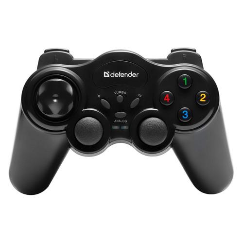 Геймпад беспроводной DEFENDER Game Master черный [64257] геймпад проводной defender zoom usb xinput черный [64244]