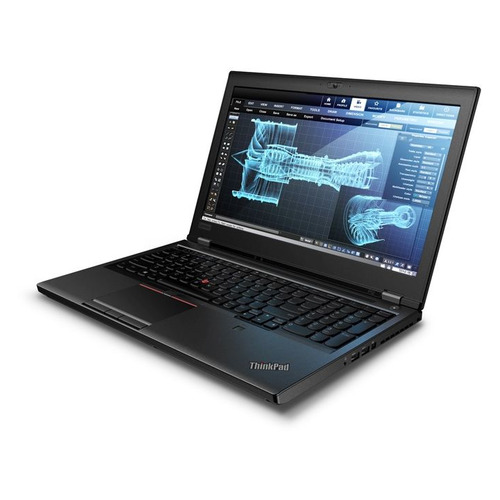 Ноутбук LENOVO ThinkPad P52, 15.6, IPS, Intel Core i7 8850H 2.6ГГц, 16Гб, 512Гб SSD, nVidia Quadro P2000 - 4096 Мб, Windows 10 Professional, 20M90019RT, черный ноутбук dell precision 5530 15 6 intel core i9 8950hk 2 9ггц 16гб 512гб ssd nvidia quadro p2000 4096 мб windows 10 professional 5530 6924 черный