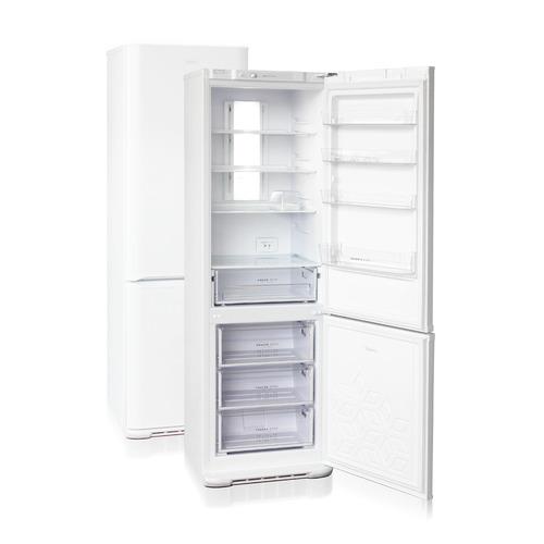 Холодильник Бирюса Б-360NF, двухкамерный, белый холодильник бирюса б 649 белый двухкамерный