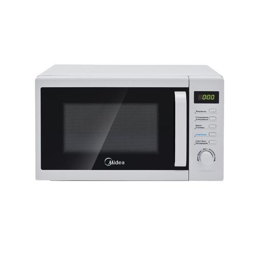 Микроволновая Печь Midea AM820CUK-W 20л. 800Вт белый цена и фото