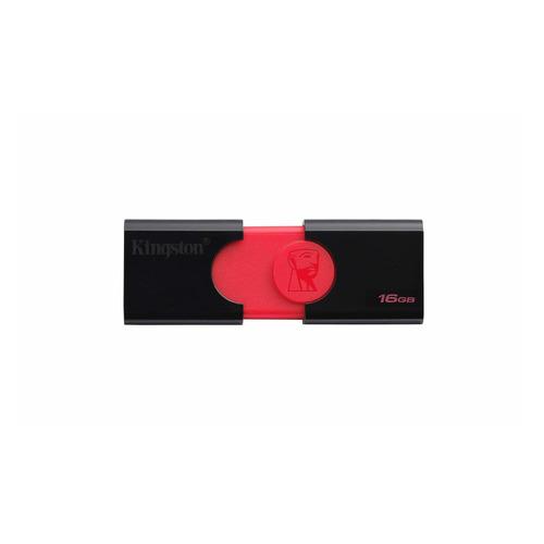 Фото - Флешка USB KINGSTON DataTraveler DT 106 16Гб, USB3.0, черный [dt106/16gb] dt 4035