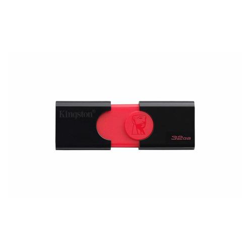 Фото - Флешка USB KINGSTON DataTraveler DT 106 32Гб, USB3.0, черный [dt106/32gb] термометр для пищевых продуктов gemlux gl dt 11