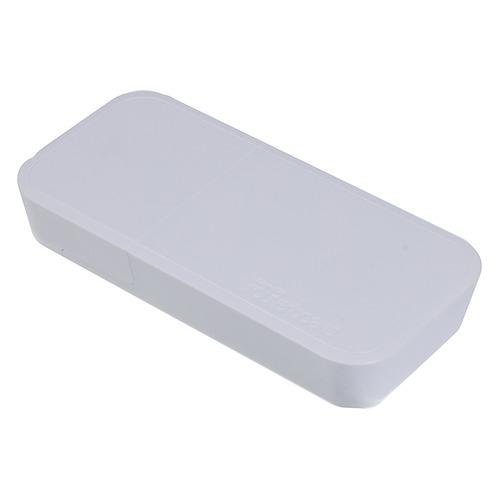 Точка доступа MIKROTIK wAP R, белый [rbwapr-2nd&r11e-lte] wi fi точка доступа mikrotik sxt lte6 kit rbsxtr