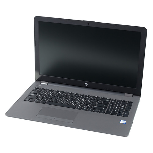 Ноутбук HP 250 G6, 15.6, Intel Core i3 7020U 2.3ГГц, 4Гб, 128Гб SSD, Intel HD Graphics 620, DVD-RW, Windows 10 Professional, 4LT08EA, темно-серебристый