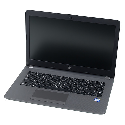 Ноутбук HP 240 G6, 14, Intel Core i5 7200U 2.5ГГц, 8Гб, 256Гб SSD, Intel HD Graphics 620, DVD-RW, Windows 10 Professional, 4BD06EA, черный