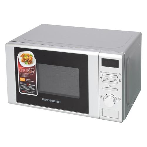 лучшая цена Микроволновая Печь Redmond RM-2002D 20л. 700Вт серый/черный