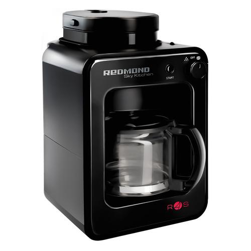 Кофеварка REDMOND RCM-M1505S-E, капельная, черный