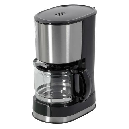 Кофеварка REDMOND RCM-M1507, капельная, черный / серебристый