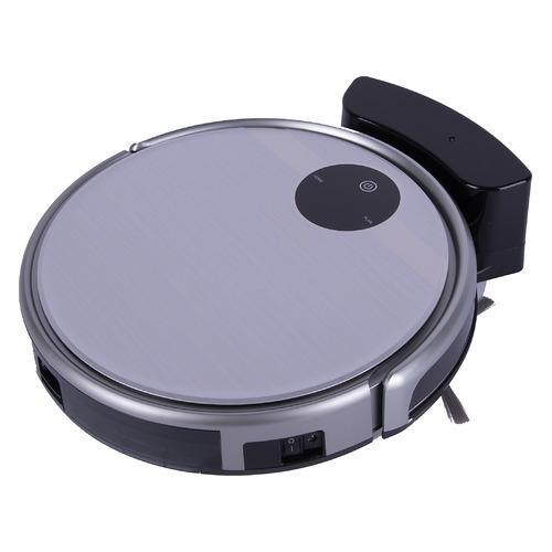 Робот-пылесос REDMOND RV-R500, 25Вт, серебристый/черный робот пылесос redmond rv r300 серебристый черный