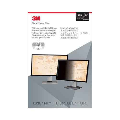 Экран защиты информации 3M PF220W1B для монитора 22