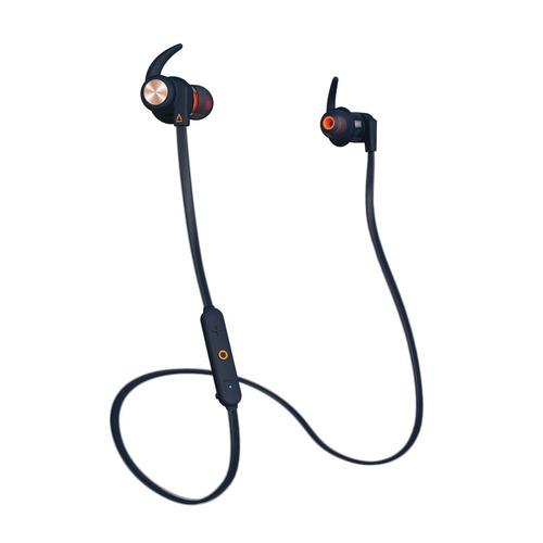 Наушники с микрофоном CREATIVE Outlier Sports, Bluetooth, вкладыши, синий [51ef0730aa000] беспроводные наушники creative outlier one plus black