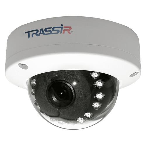 Фото - Видеокамера IP TRASSIR TR-D3121IR1, 1080p, 2.8 мм, белый видеокамера ip trassir tr d2121ir3 1080p 2 8 мм белый