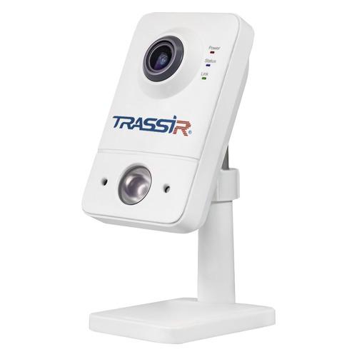 Фото - Видеокамера IP TRASSIR TR-D7121IR1W, 1080p, 2.8 мм, белый видеокамера ip trassir tr d2121ir3 1080p 2 8 мм белый