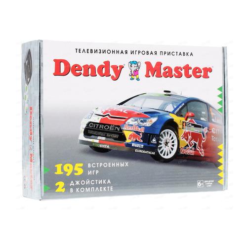Фото - Игровая консоль DENDY Master 195 игр, черный игровая приставка dendy kids black 195 игр