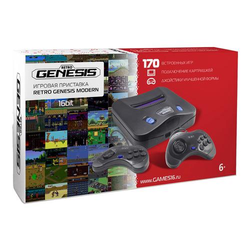 лучшая цена Игровая консоль RETRO GENESIS Modern 170 игр, черный
