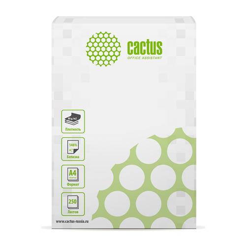 Бумага Cactus CS-OP-A480250 A4/80г/м2/250л./белый CIE146% общего назначения(офисная) бумага cactus cs opb a480250 a4 80г м2 250л белый cie153% общего назначения офисная